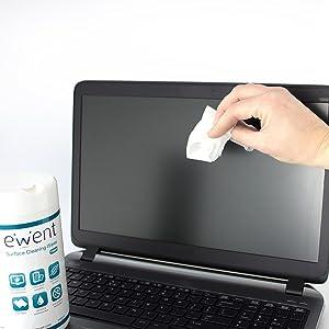 El polvo y la suciedad pueden dañar su computadora portátil. Evita el polvo y el sobrecalentamiento con aerosoles de aire comprimido EW5601 y EW5602, ...