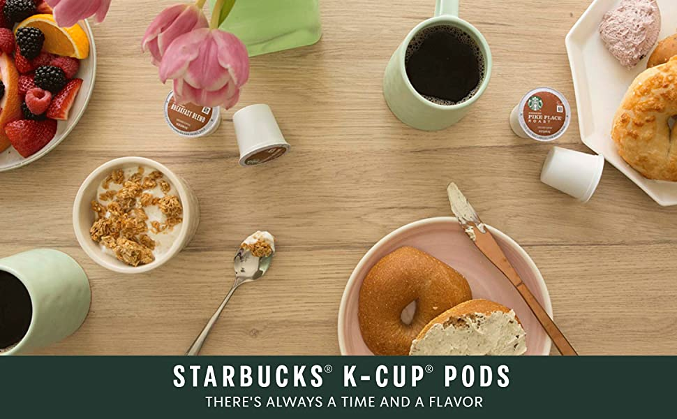 Starbucks KCUP Pods - There's Always a Time and a Flavor