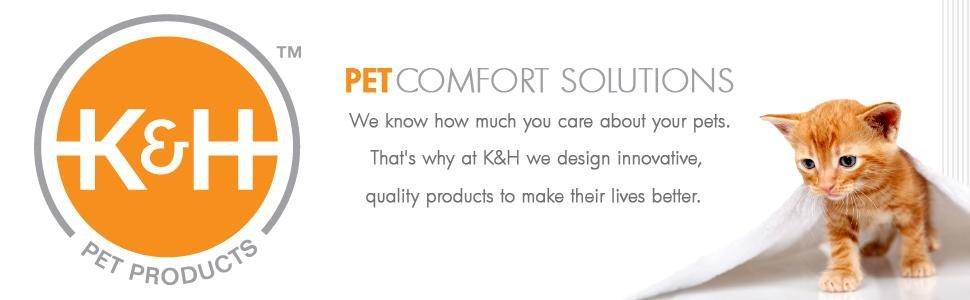 K&H,pet,safe,heated bed,cat,dog,warm,kitten