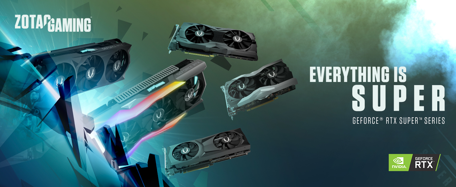 ZOTAC GAMING GeForce RTX 2070 SUPER Twin Fan 8GB GDDR6 256-bit 14Gbps Gaming Graphics Card, IceStorm