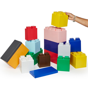 everblock, modular building blocks, giant lego, jumbo building blocks, modular blocks, big lego