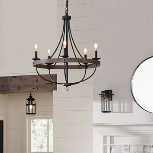 Light lights lighting fixture fixtures hanging chandelier chandeliers pendant pendants craftsman