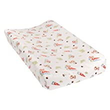 Forest Gnomes Flannel Changing Pad Cover, sold separately