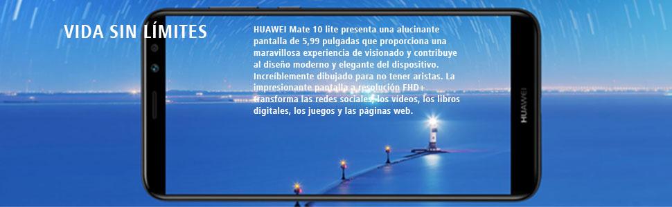 Huawei Mate 10 Lite - Pack de Power Bank (6700mAh) y smartphone de ...