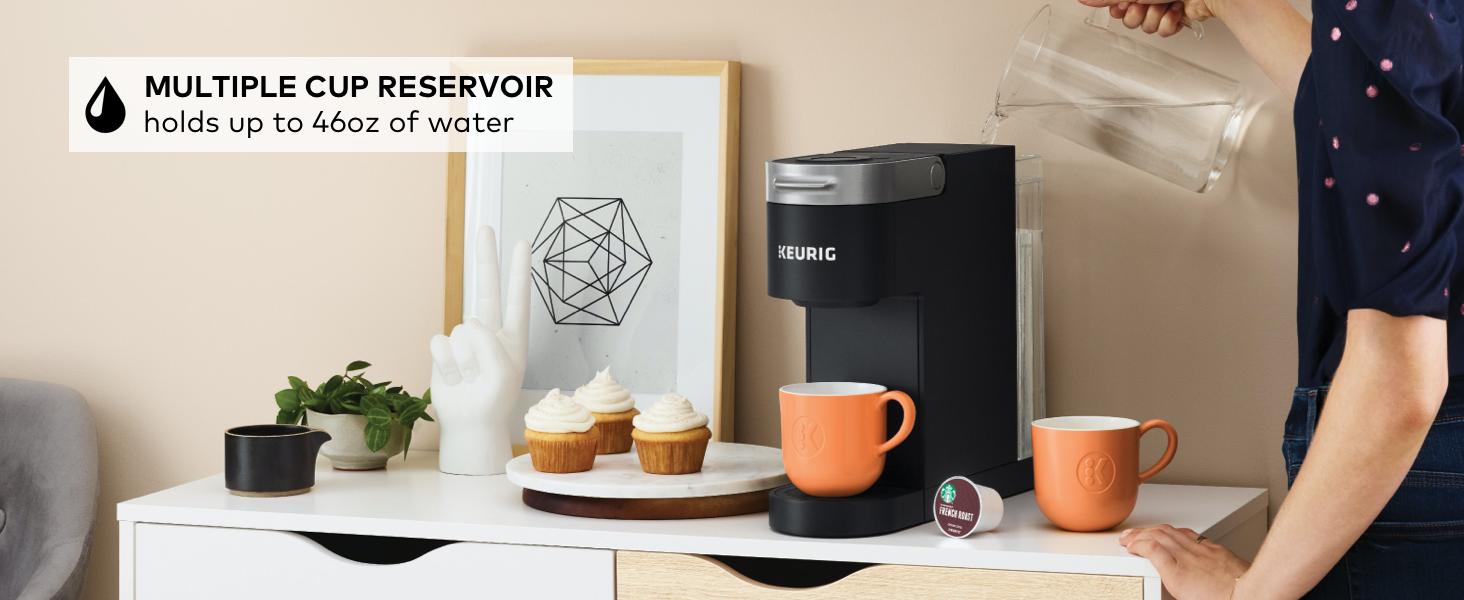 keurig k-slim coffee maker, slim coffeemaker, brewer, coffee machine, k cup pod coffee