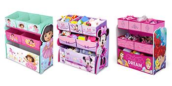 Amazon Com Delta Children Multi Bin Toy Organizer Disney Frozen Baby