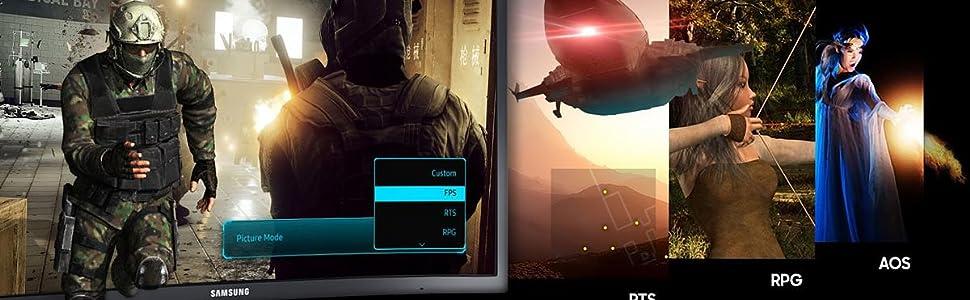 Kavisli Quantum Dot 1ms Freesync 144Hz Gaming Monitor