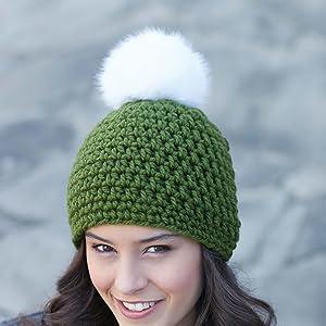 9a2ababd4bc bernat pom pom pompom yarn knit craft crochet yarnspirations bernat