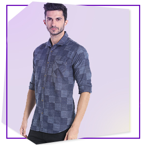 Men's Shirt:Cotton Shirt:Men's Cotton Shirt:Stylish shirt:Party wear:Casual wear:Checks shirt:summer