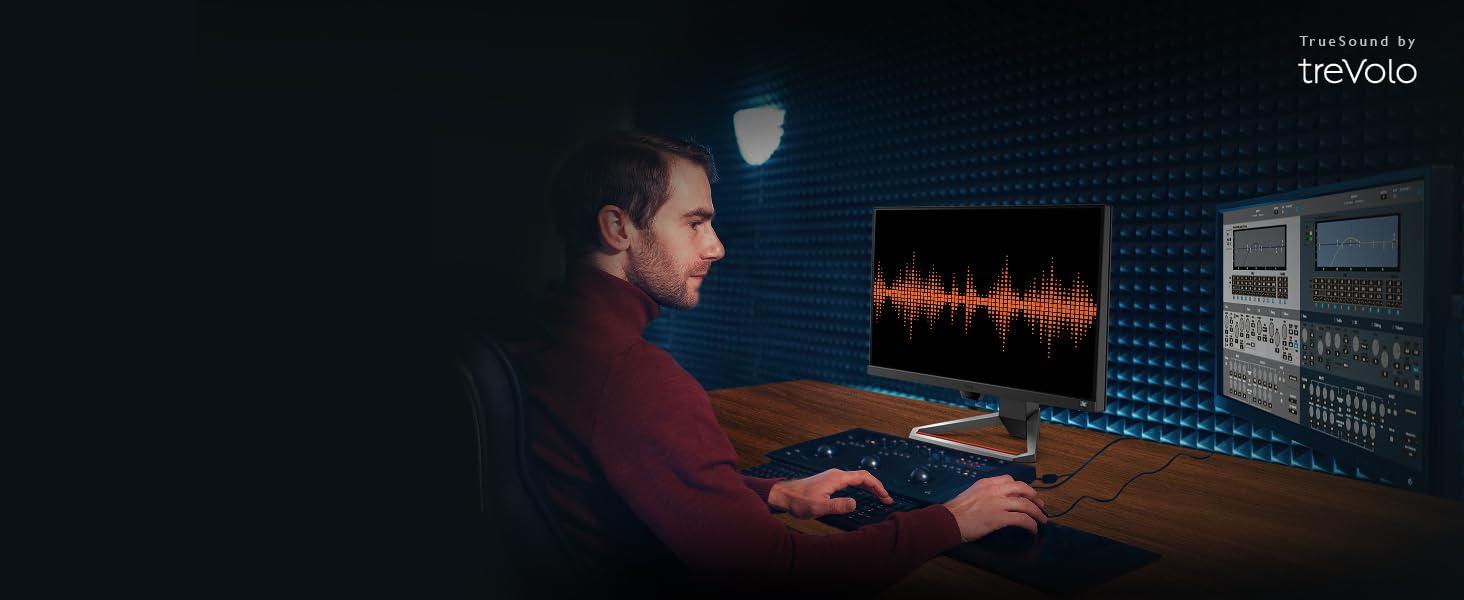 benq mobiuz ex2710 built-in speakers trevolo gaming monitor