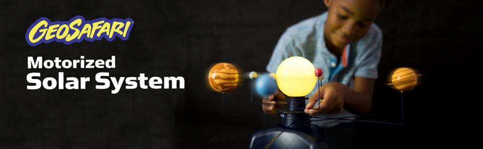 Educational Insights Geosafari Motorized Solar System Science Kit