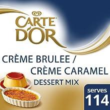creme brulee, dessert, dessert mix, carte d'or, nestle