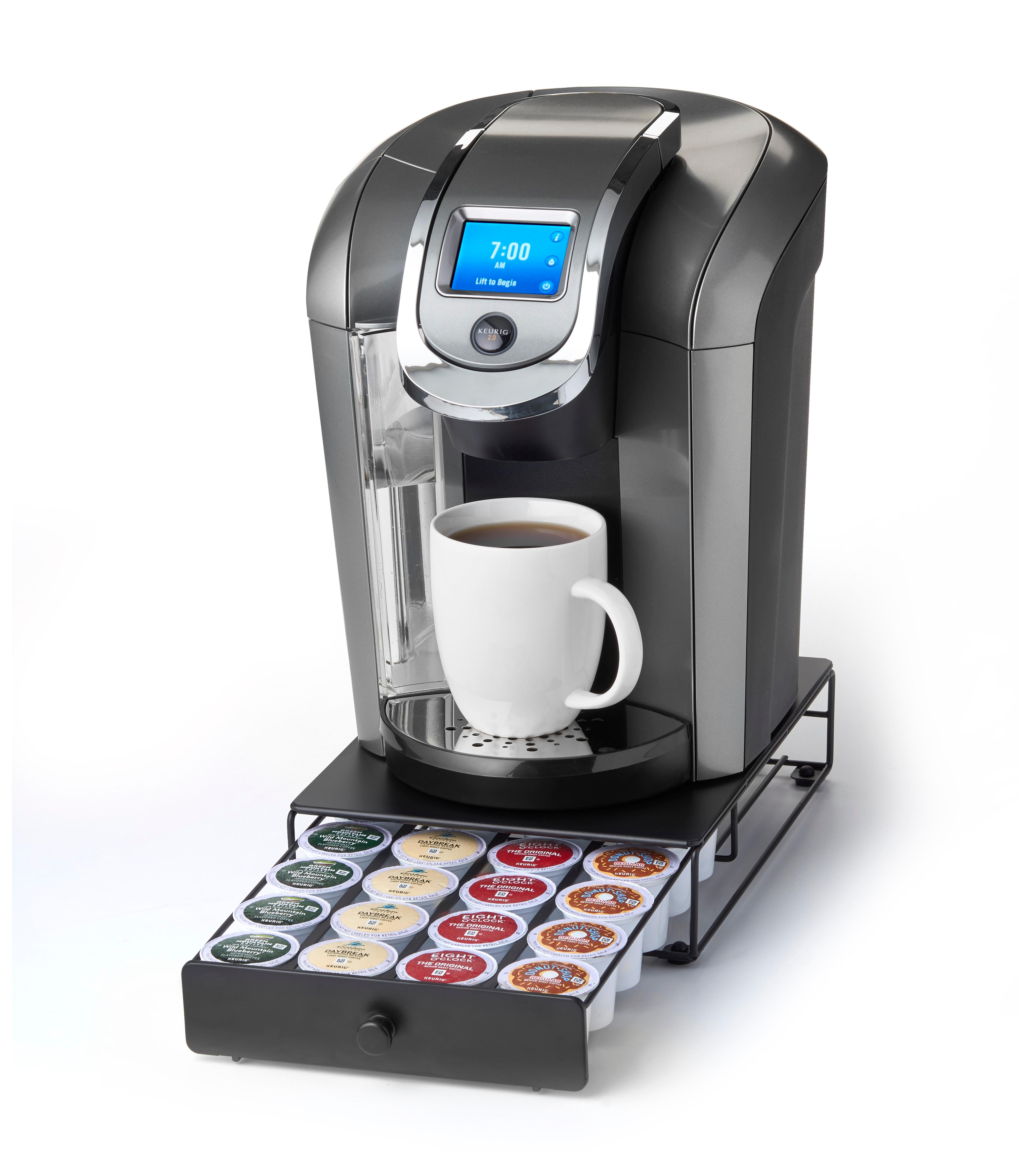 Amazon.com: Keurig Brewed Under the Brewer Mini K-Cup Drawer: Coffee Brewing Machine Cups ...