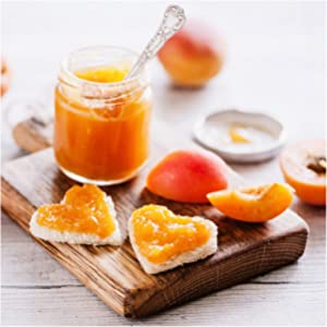 Apricot Preserve with Toast