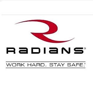 radians, radians safety, safety glasses, safety goggles, safety vest, hi viz, hearing protection