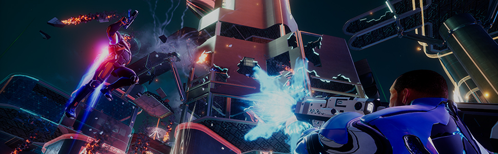 nova wrecking zone multiplayers, explosiva competição, novo jogo Crackdown 3
