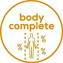 Indicador de grasa corporal, indicador de agua corporal, masa muscular, e indicador de