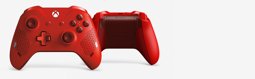 Amazon com: Xbox Wireless Controller - Sport Red Special