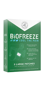 Biofreeze Patch
