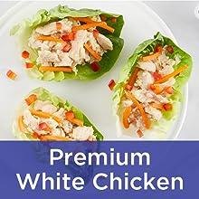 premium white chicken