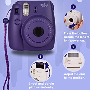 Simple operation of camera