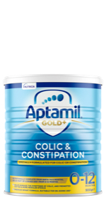 Aptamil Gold+ Colic & Constipation Baby Infant Formula From Birth to 12 Months