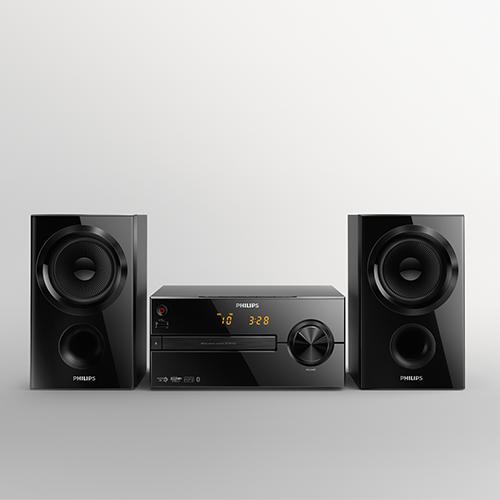 philips btm1560 mini cha ne hifi bluetooth avec lecteur cd. Black Bedroom Furniture Sets. Home Design Ideas