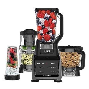 Ninja Blender, Ninja CT682, Ninja Intelli-sense kitchen system, Auto IQ, spiraliser, food processor
