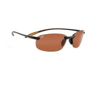 Amazon.com: Serengeti Nuvola Polar Sunglasses,Shiny Brown ...