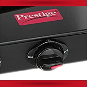 Prestige Marvel Glass 2 Burner Gas Stove