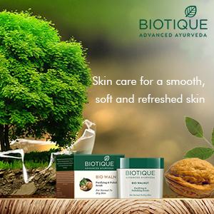 Biotique Bio Walnut Purifying & Polishing Scrub For Normal To Dry Skin 50gm