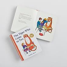 Tiger, Board, Book, Tea,Gift, Edition, Celebrate