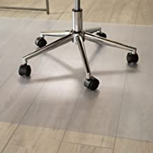 desk chair mat home office protect hard hardwood concrete tile laminate floor