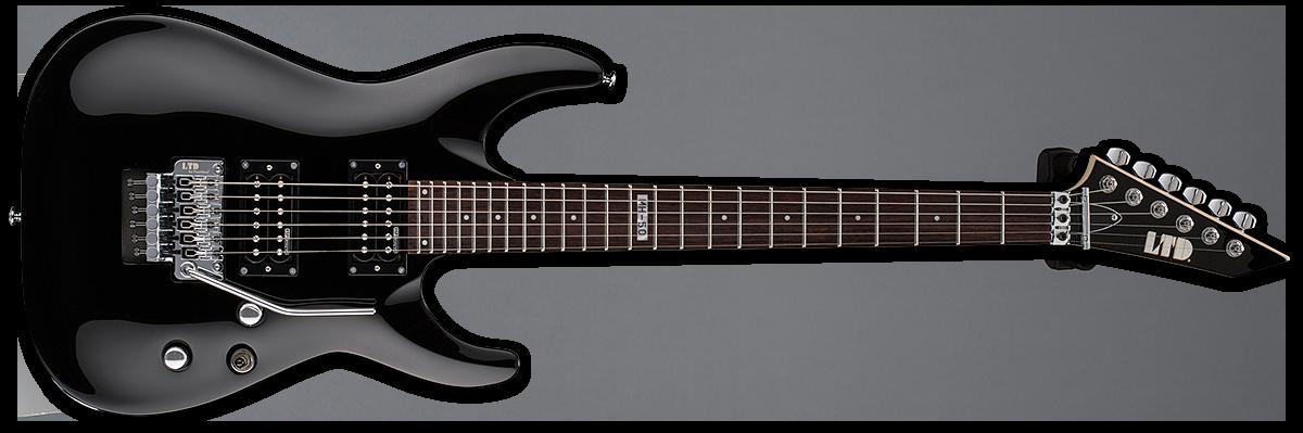 esp mh 50 electric guitar black musical instruments. Black Bedroom Furniture Sets. Home Design Ideas