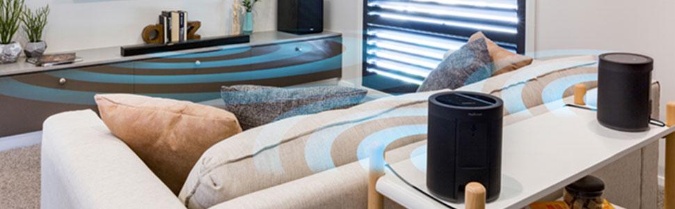 Surround wireless home theatre yamaha av audio quality
