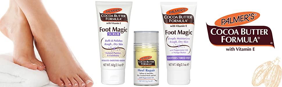 Cocoa Butter Foot Magic