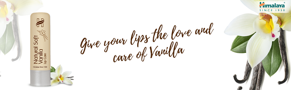 Give your lips the love and care of vanilla