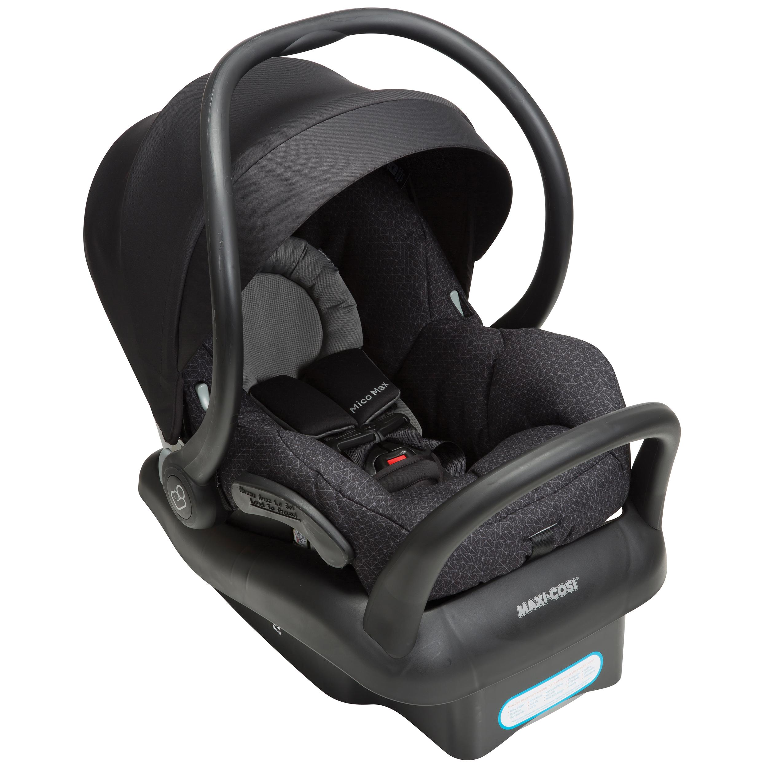 maxi cosi mico max 30 infant car seat devoted black baby. Black Bedroom Furniture Sets. Home Design Ideas