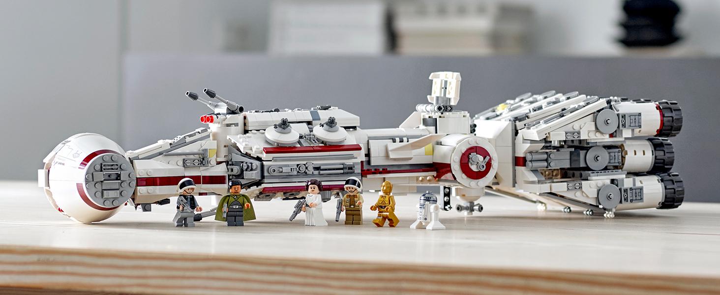 LEGO STAR WARS-Bail Organa minifigura dal Set 75244