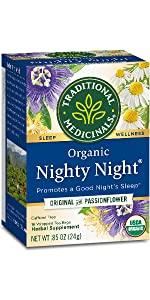 Traditional Medicinals Organic Nighty Night Relaxation Tea