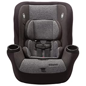 cosco comfy convertible car seat usa 50 pounds lbs side impact protection safe latch ariplane