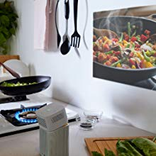 GV1 fits in your schedule with ease when you're cooking in your  kitchen