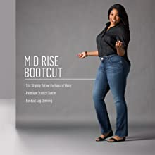 Mid Rise Bootcut