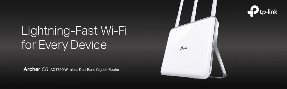 Amazon.com: TP-Link AC1750 - Router inalámbrico Wi-Fi Gigabit ...