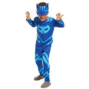 PJ Masks Disfraces, color azul, 4-6 años (Bandai 24601): Amazon.es ...
