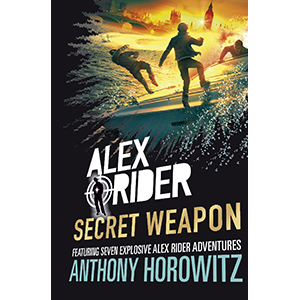 alex rider; spies; espionage; james bond; action books; books for boys; spy kid; anthony horowitz