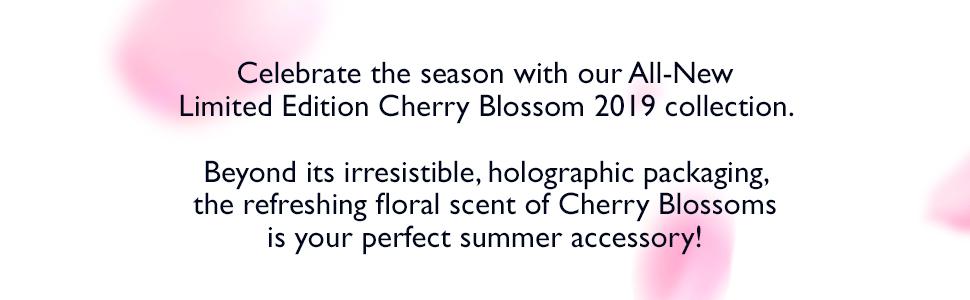 cherry blossom;loccitane gift set;gift box;gift for girls;luxury gift set;shower gel;body milk