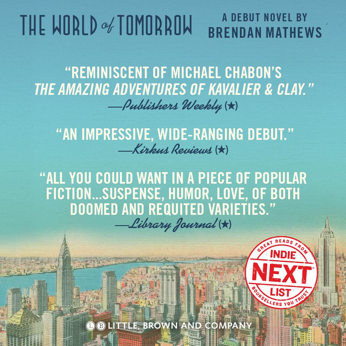 The world of tomorrow kindle edition by brendan mathews view larger fandeluxe PDF