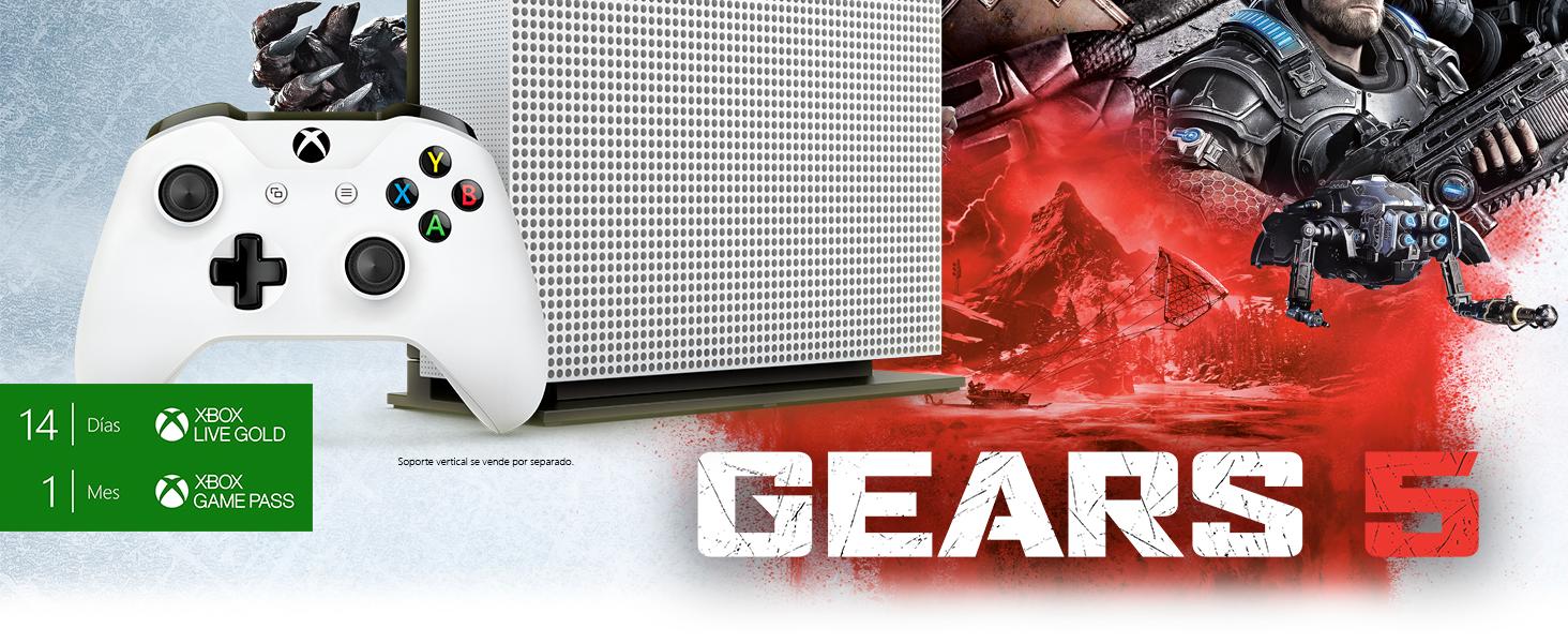 Xbox One S Gears 5 + FIFA 20: Amazon.es: Videojuegos