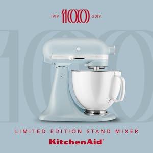 Kitchenaid Ksm180rpmb Artisan Heritage Stand Mixer Misty Blue